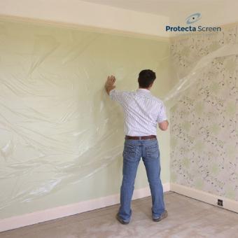 Protections Temporaires De Chantier Et De Surface Pour Murs